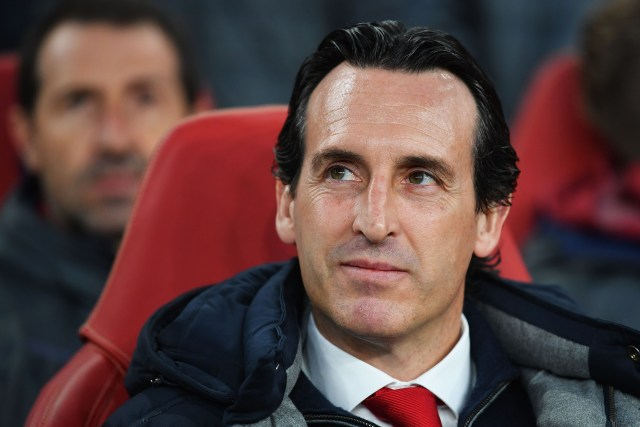 Unai Emery is trying to secure the Gunners a top four finish