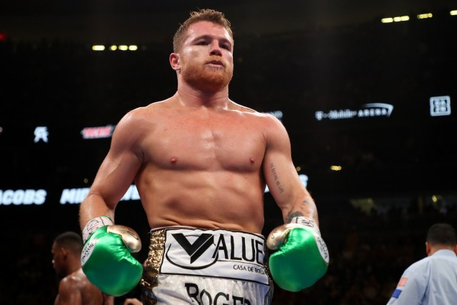 Canelo Alvarez was supposed to fight on September 14