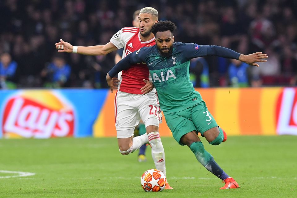 Rose admits he was riled up by Ajax in the away leg