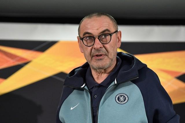 Chelsea boss Maurizio Sarri is aiming for Europa League glory