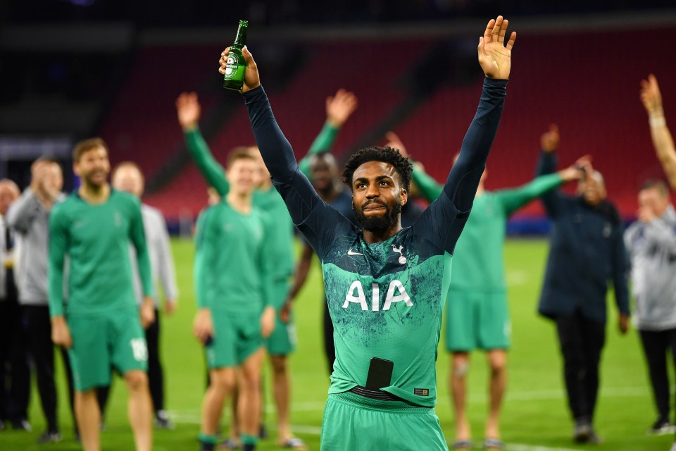 Danny Rose has helped Spurs reach the Champions League final