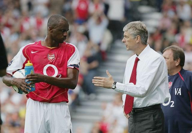 Arsenal legend Patrick Vieira