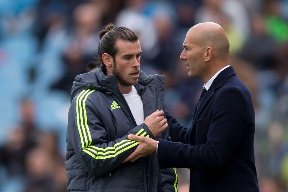 Bale is not wanted by Zinedine Zidane
