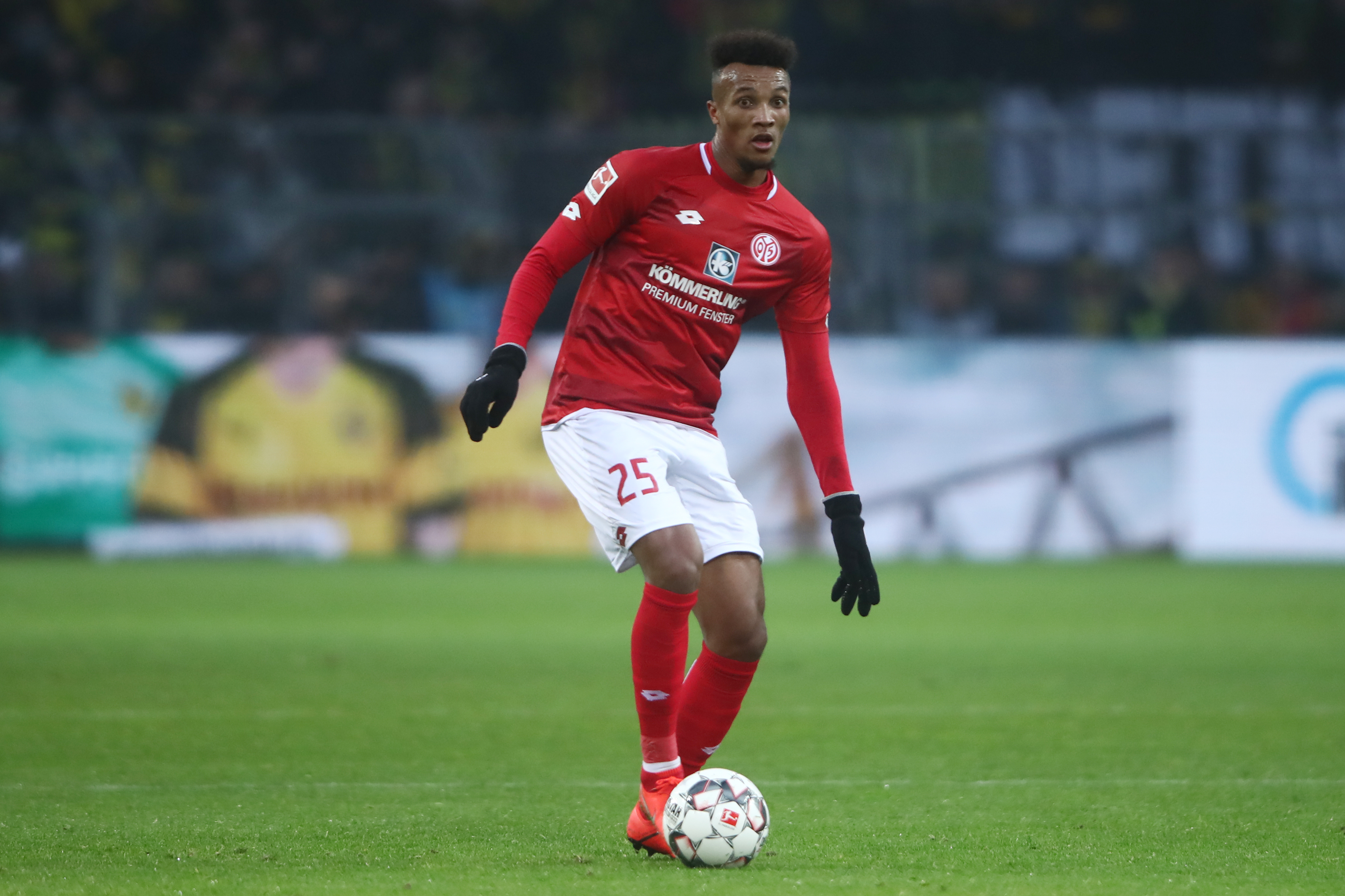 Jean-Philippe Gbamin is a wanted man