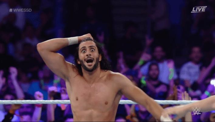 O zamanki NXT yeteneği Mansoor, şok savaşı kraliyet galibi oldu