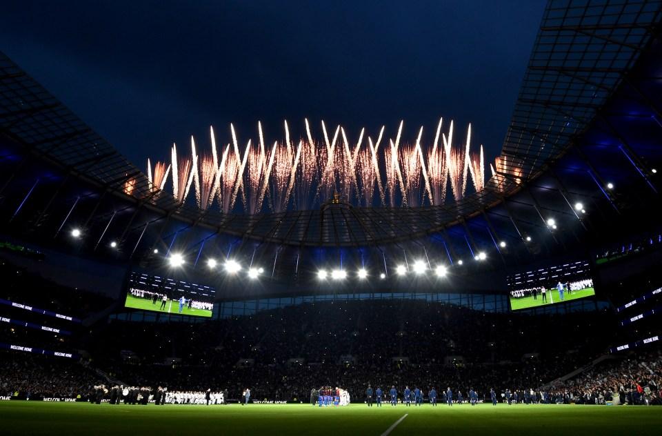 Tottenham Hotspur Stadium ready for world heavyweight title fight