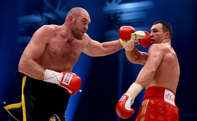 Fury used to play Wikipedia mind games with Klitschko, but there's no indication it's actually him again this time
