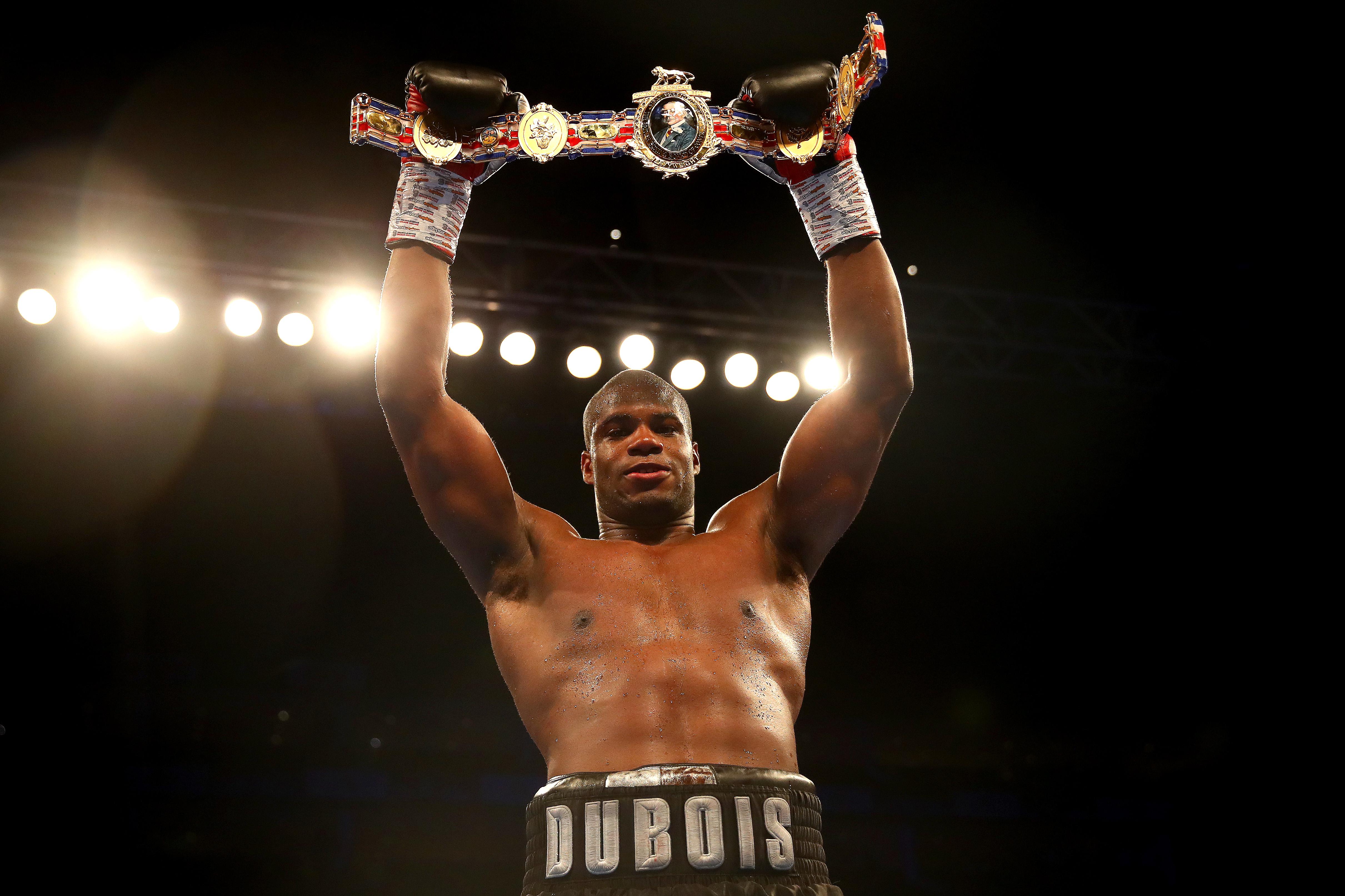 At just 21, Dubois is already British champion