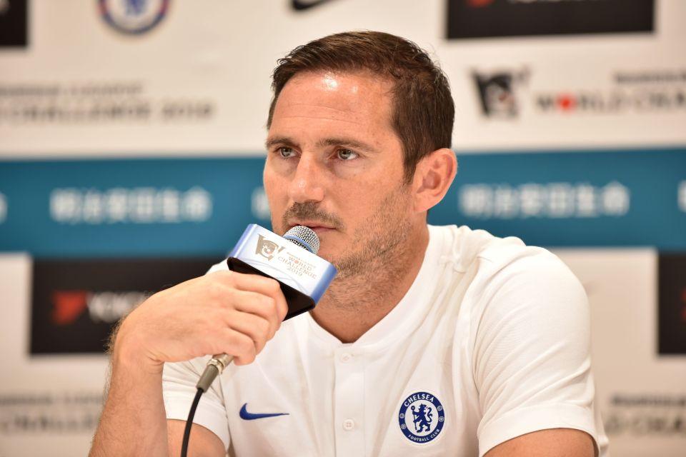 Lampard spoke to the press following Chelsea's arrival in Japan