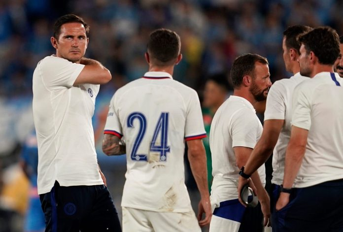 Frank Lampard suffered his first loss as Chelsea boss