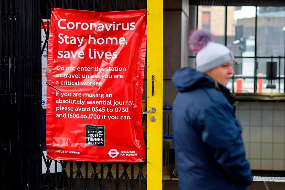 England is in lockdown as a result of the coronavirus pandemic