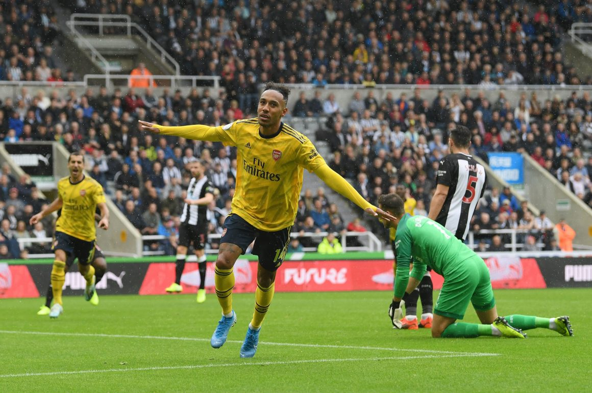 Newcastle 0-1 Arsenal: Pierre-Emerick Aubameyang goal gets Gunners off to winning start
