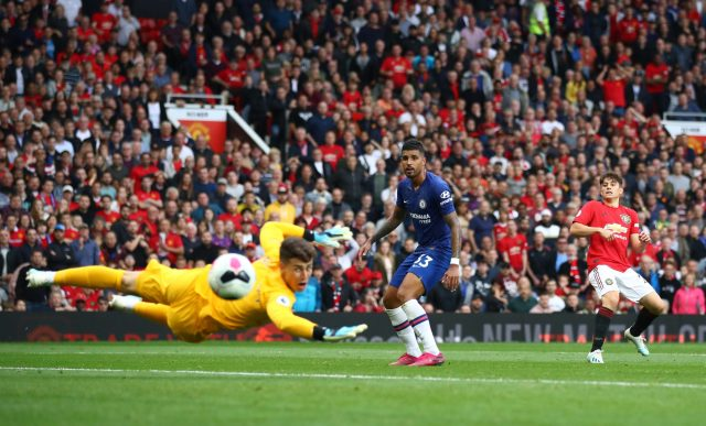 James lashed the ball home to round off the scoring agains Chelsea