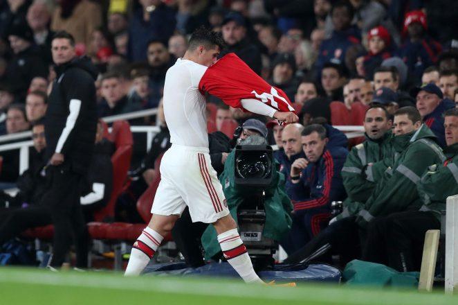 Xhakas outburst at the Emirates Stadium made all the headlines