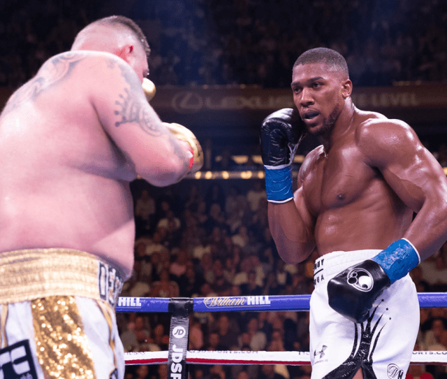 Evander Holyfield Warns Anthony Joshua To Expect Same Result