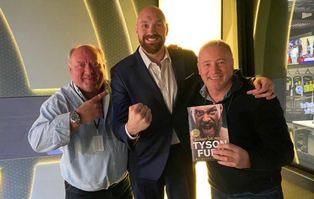 Tyson Fury was in the talkSPORT studio alongside Alan Brazil and Ally McCoist