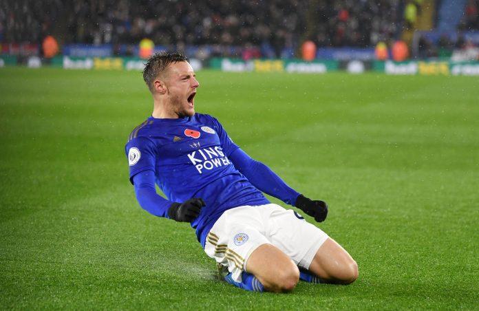 Jamie Vardy is nearing 100 Premier League goals