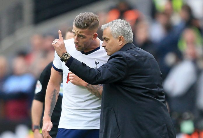 Jose Mourinho is a big fan of Toby Alderweireld and wanted to sign him for Manchester United