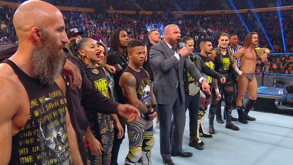 WWE news: Triple H was behind 'greatest SmackDown ever' that saw NXT dominate WWE's main roster