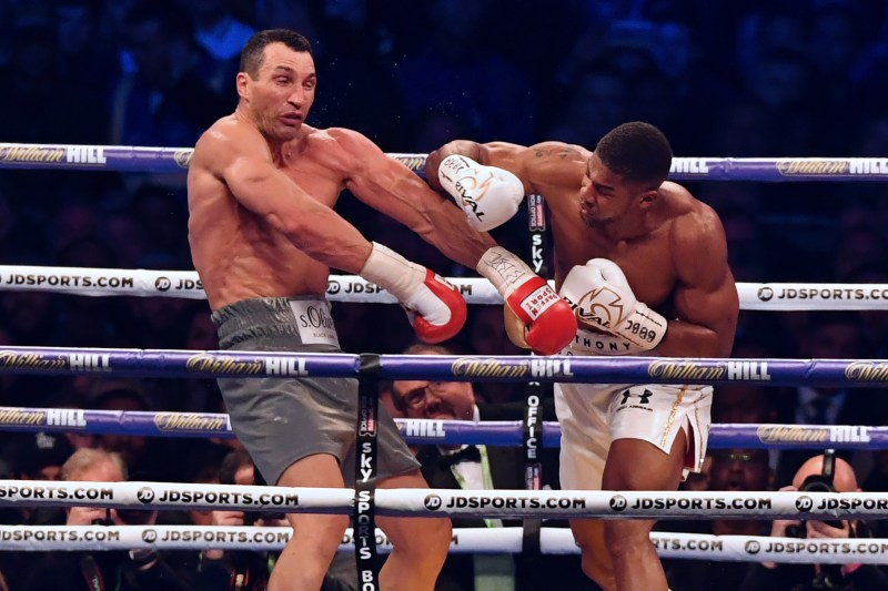 Joshua took apart Wladimir Klitschko in 2017 to begin his ascent to the top of the game