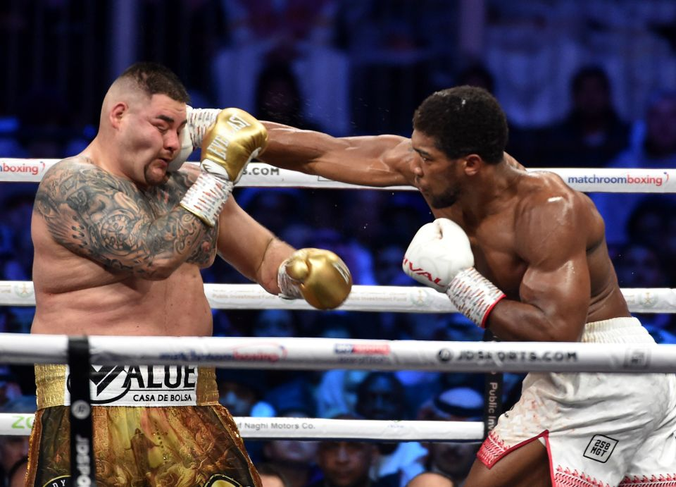 Joshua dominated Ruiz Jr in their rematch in Saudi Arabia six months later