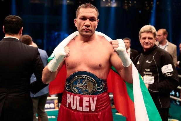 Kubrat Pulev is the mandatory challenger for Joshua's belts