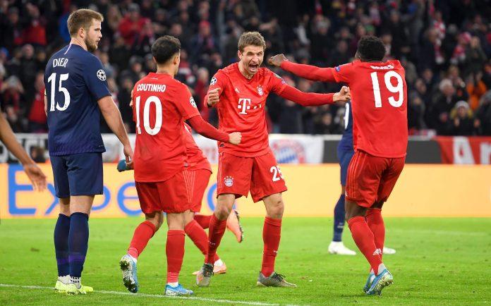 Muller restored Bayern's lead