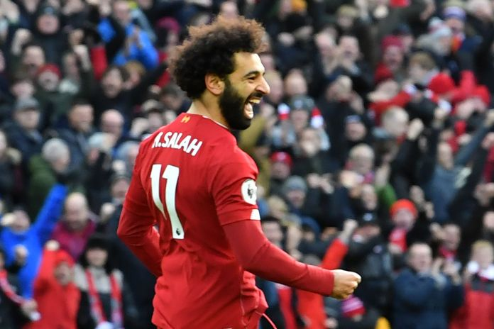 Mohamed Salah won the Champions League with Liverpool last season