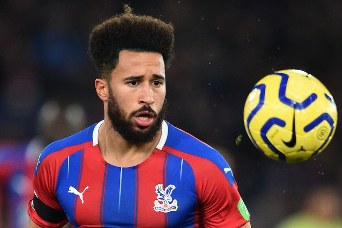 Andros Townsend has backed the Premier League's plans to get the 2019/20 season back underway