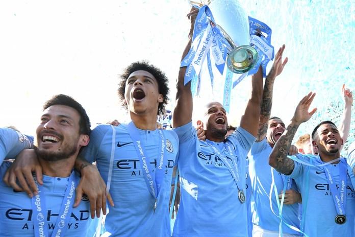 Man City finished 82 points ahead of basement side Huddersfield last season