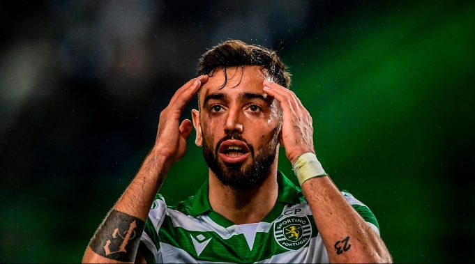 Bruno Fernandes set to watch from stands for Liverpool vs Man Utd' as he edges closer to join united