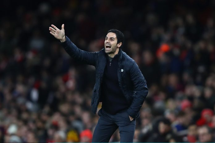 Mikel Arteta was not happy with his players for their performance against Leeds