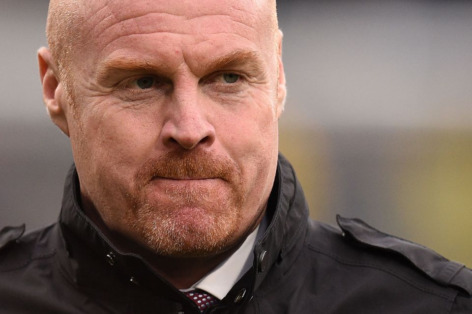 Sean Dyche has Burnley sitting 10th in the Premier League table
