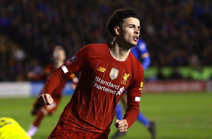 Curtis Jones scored Liverpool's first goal
