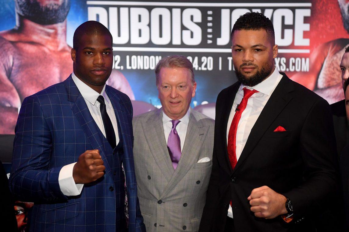 Daniel Dubois Vs Joe Joyce Postponed Again - Frank Warren Now Targeting New Date For Heavyweight Clash