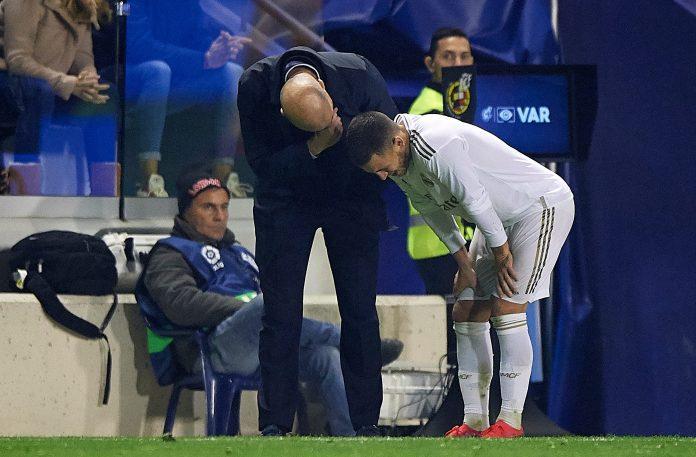 Eden Hazard has got injured again at Real Madrid