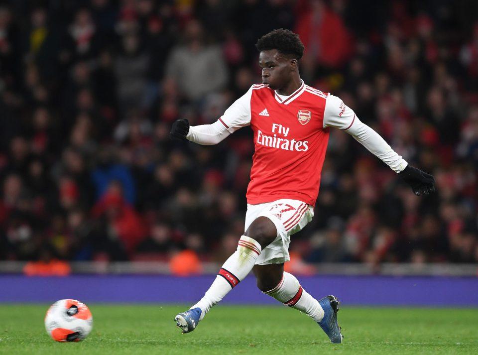 Saka dazzled for Arsenal this season