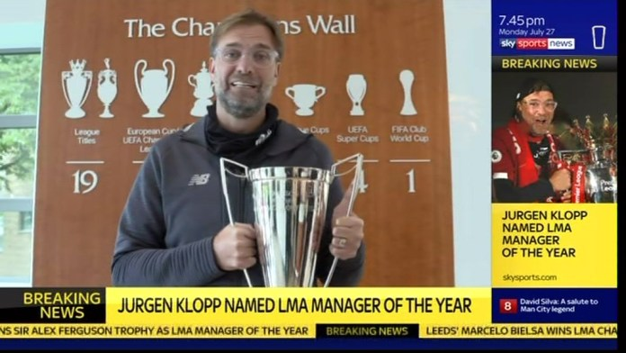 Another trophy Klopp has got his hands on as Liverpool boss