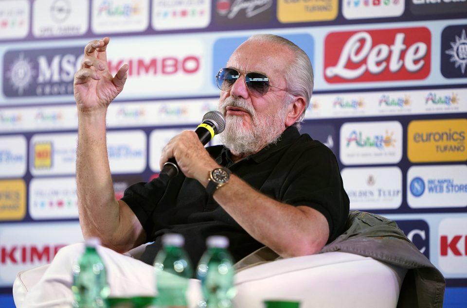 De Laurentiis is planning to revolutionise the game