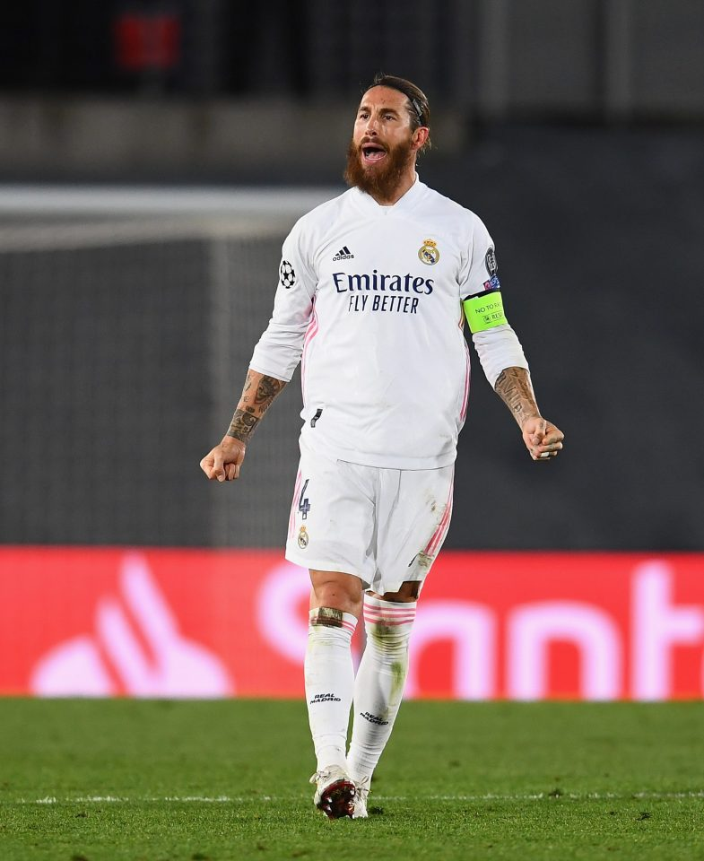 Ramos won five league titles and four league champions during his 15 years at Real Madrid, where he is also captain.