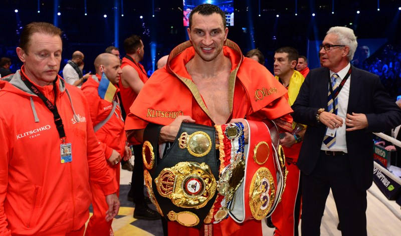 Klitschko was one of the most dominant heavyweights alongside his brother