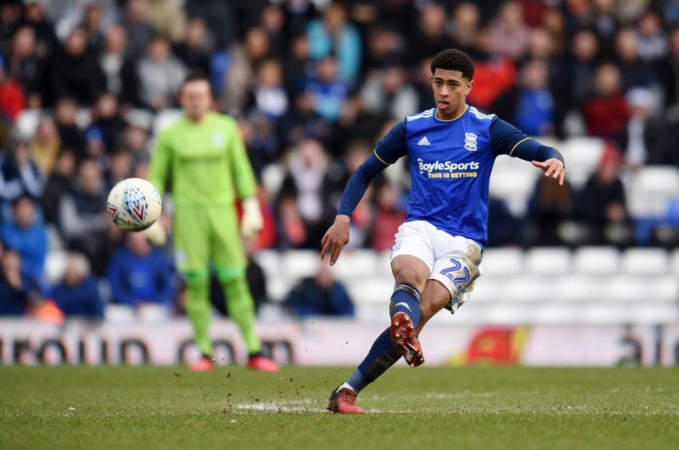 Birmingham ace Jude Bellingham sparks interest from Man United
