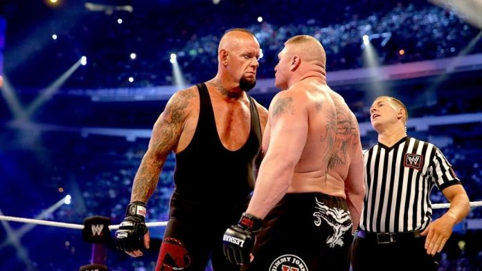 Undertaker and Lesnar have had a great on/off rivalry in WWE
