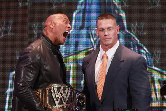 Rock and John Cena knew they could raise a lot of money together