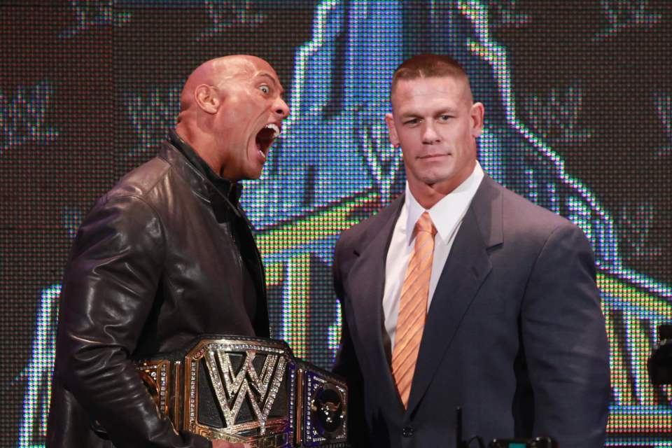 The Rock and John Cena knew they could make a lot of money together