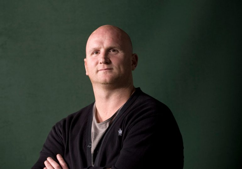 John Hartson tries to keep a positive outlook on life