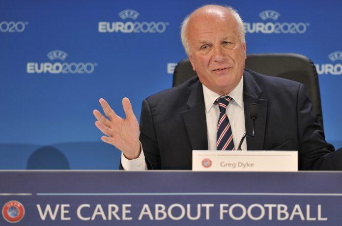 Greg Dyke foi o presidente da FA por três anos entre 2013 e 2016