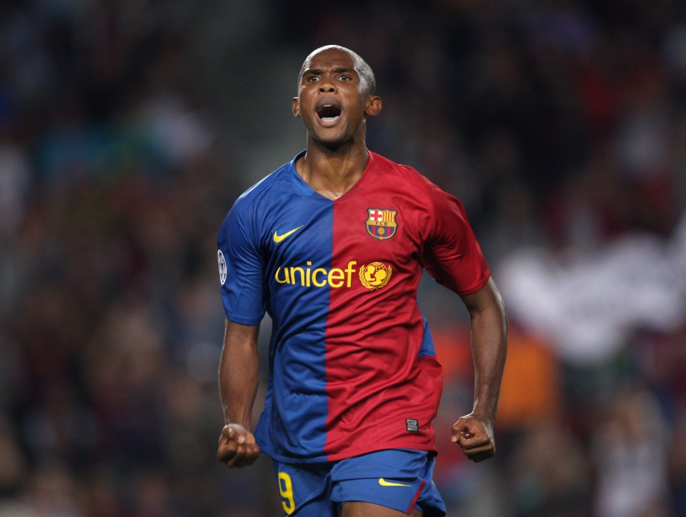 Suarez followed in Eto'o's footsteps at Camp Nou