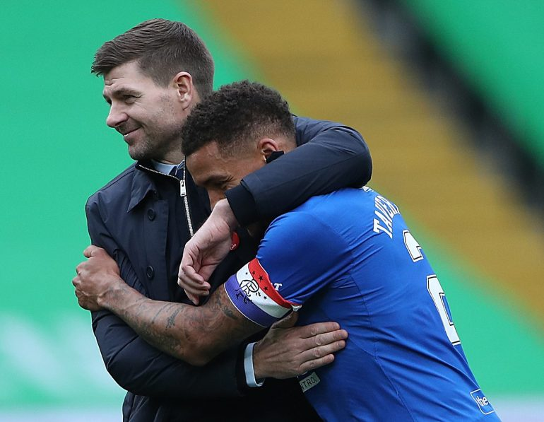 Steven Gerrard's Rangers are way ahead of Celtic this season