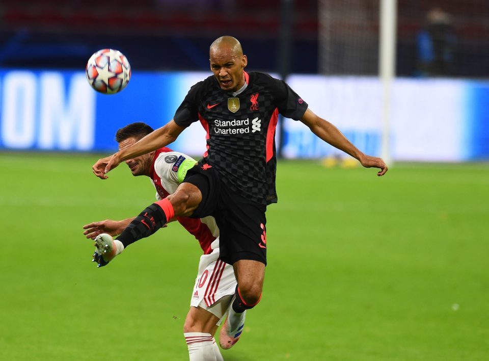 Fabinho delivered a man of the match performance in Champions League clash